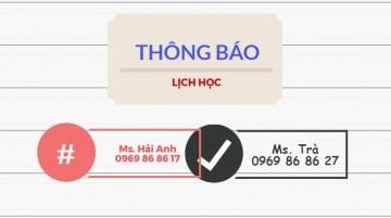 Lịch học lớp Khai Hải Quan Điện Tử khóa K33 tại Hà Nội – Lớp cuối cùng thi Chứng Chỉ Hải Quan năm 2017