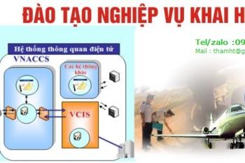 Lịch học lớp khai hải quan khóa K50 Hà Nội