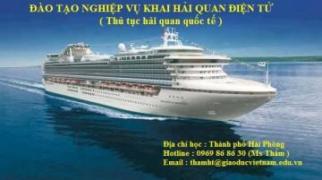 Lịch học lớp khai hải quan khóa K46 Hà Nội