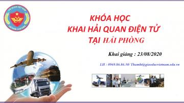 Mở lớp nghiệp vụ khai báo hải quan điện tử tại Bắc Ninh